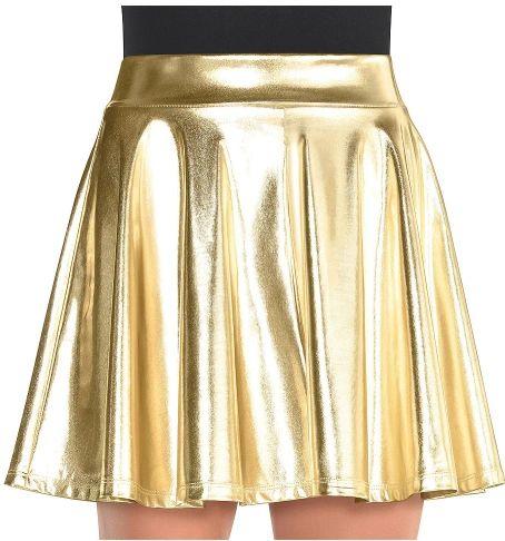 Gold Flare Skirt - Adult Standard