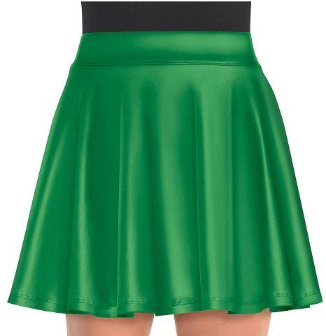 Green Flare Skirt - Adult Standard