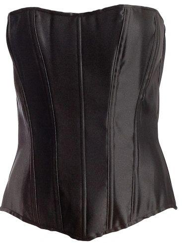 Black Corset - Adult S/M, M/L, or Plus Size