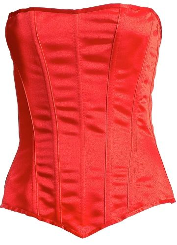 Red Corset - Adult S/M or M/L
