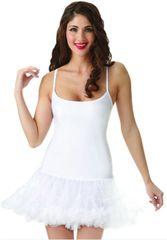 White Petticoat Dress - Adult S/M or M/L