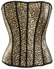 Leopard Corset - Adult M/L