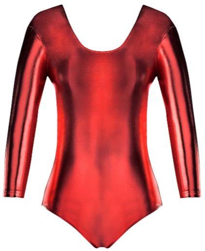 Red Bodysuit - Adult M/L