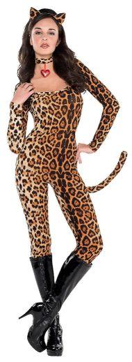 Leopard Catsuit - Adult Standard