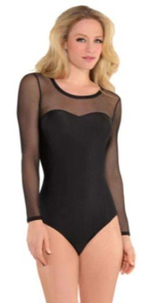 Black Fierce Bodysuit - Adult S/M or M/L