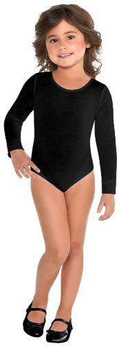 Black Bodysuit - Toddler 2-4T