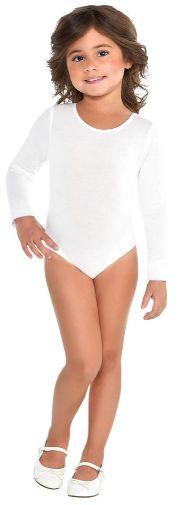 White Bodysuit - Toddler 2-4T