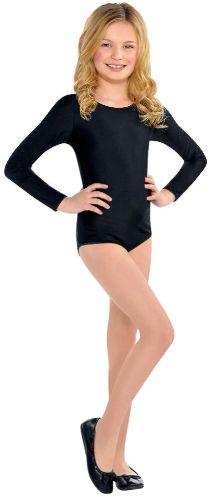 Black Bodysuit - Child S/M or M/L