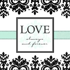 Always & Forever Lunch Napkins, 16ct