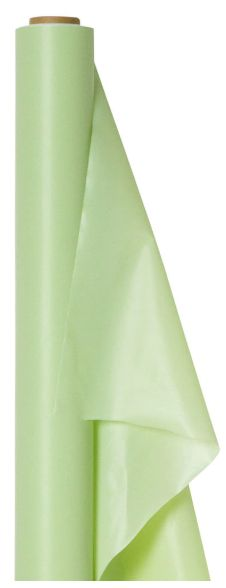 "Leaf Green Solid Table Roll, 40"" x 100'"