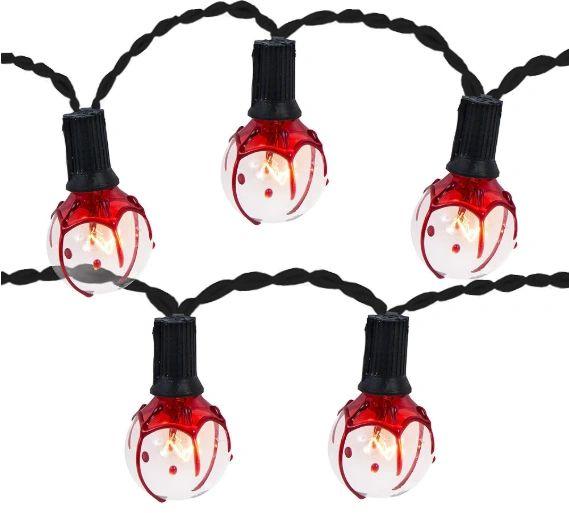 Bloody Globe Lights, 11ft