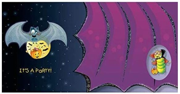 Goofy Bat Tiny Twinkler Invitations, 8ct