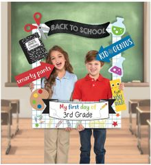 Back To School Customizable Giant Photo Frame