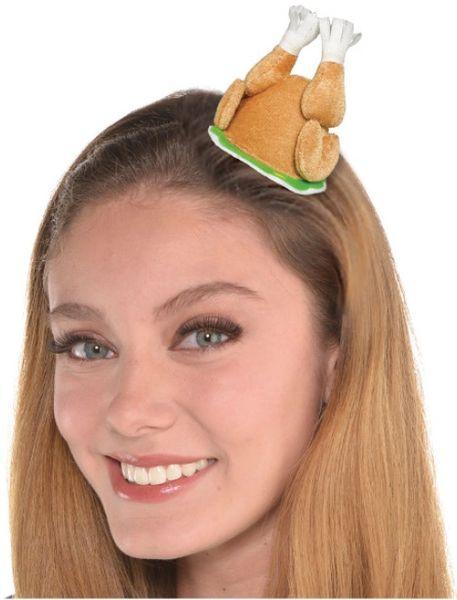 Mini Turkey Hairclip