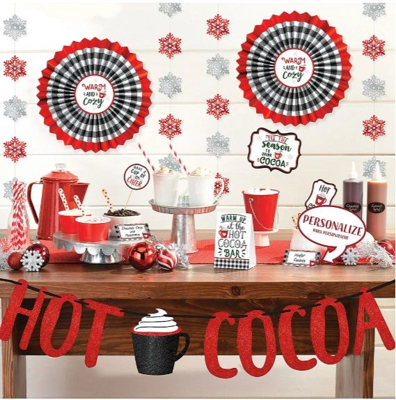 Cocoa Deluxe Buffet Decorating Kit, 23pc