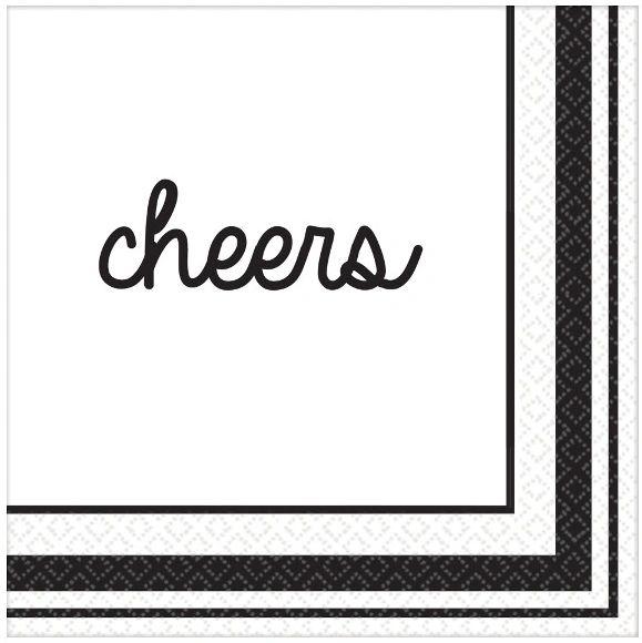 Eat & Enjoy Beverage Napkins, 16ct