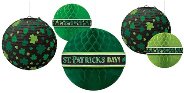 St. Patrick's Day Hanging Bouquet, 5ct
