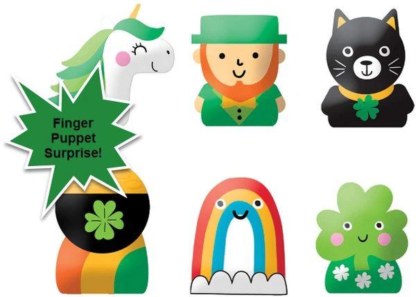 St. Patrick's Day Finger Puppet Favor