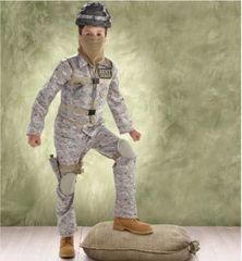 Combat Soldier - Boy Small (4-6), Boy Medium (8-10), Boy Large (12-14)