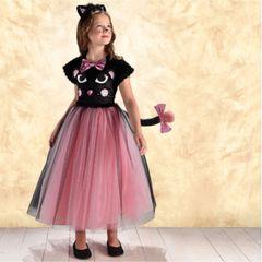 Pretty Kitty - Girl Toddler (3-4), Girl Small (4-6), Girl Medium (8-10), Girl Large (12-14)