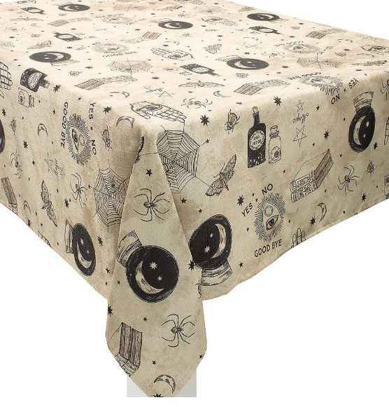 Spooks & Spells Fabric Table Cover