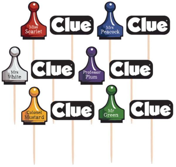 Clue® Party Picks, 36ct