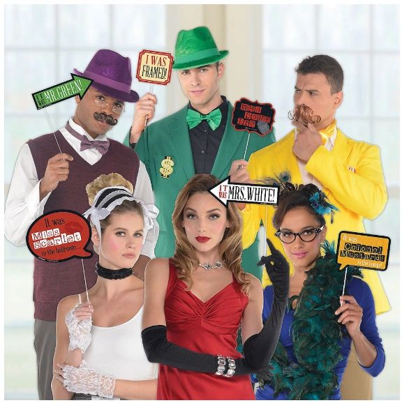 Clue® Photo Prop Kit, 13pc