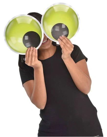 Jumbo Googly Eyeballs Photo Prop, 2ct