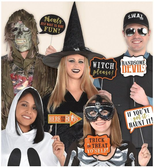 Halloween Words Photo Prop Kit, 13pc