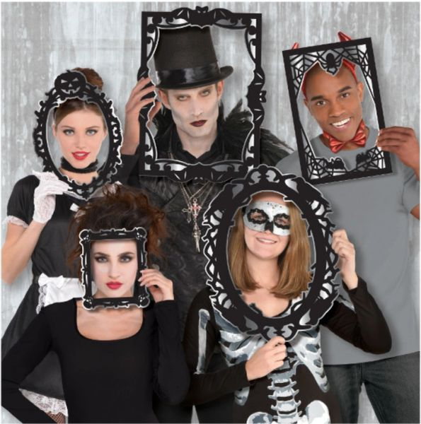 Photo Booth Gothic Frame Props, 12ct