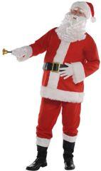 """Classic Santa Suit -Adult Standard, XL (50"""" chest), XXL (54"""" chest), XXX-Large (58"""" chest)"""