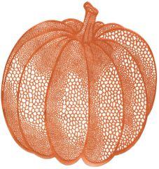 Vinyl Pumpkin Placemat