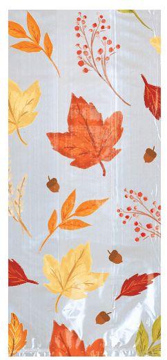 Fall Foliage Small Cello Bags, 20ct