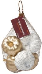 Bag Of Mini Pumpkins - Metallic Mix, 6ct