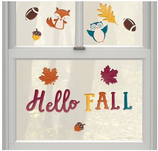 Hello Fall Long Gel Cling, 14ct