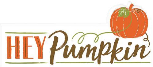 Hey Pumpkin Mini Plaque