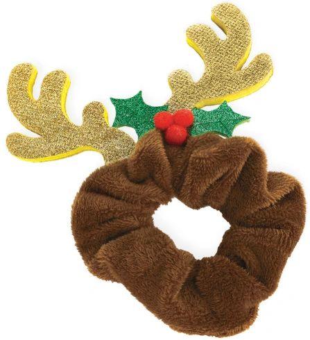 Reindeer Scrunchie