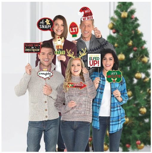 Christmas Words Photo Prop Kit, 13ct