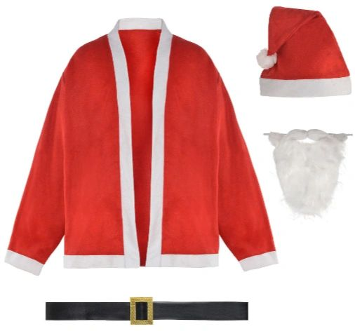 Santa Jacket Set - Adult Standard