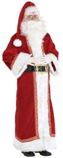 Father Christmas Santa Suit - Adult Standard