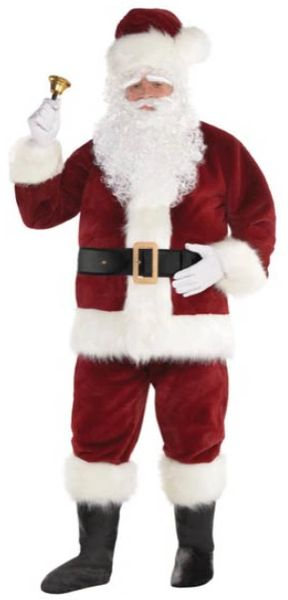"Supreme Santa Suit Standard, X-Large (50""chest), XX-Large (54""chest)"