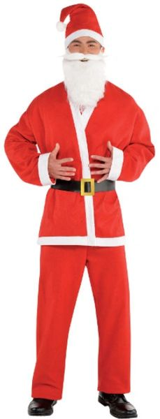 Santa Crawl Suit, Standard, XXL
