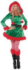 Green Sassy Elf - Small (2-4), Medium (6-8), Large (10-12), Plus (18-20)