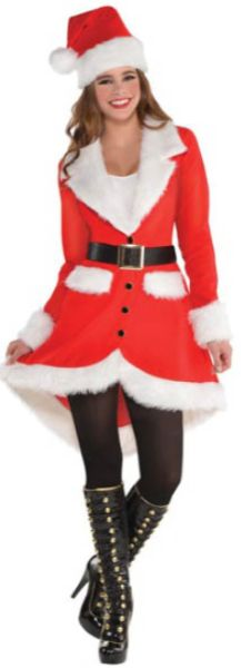 Elegant Santa - Women Small (2-4), Medium (6-8), Large (10-12)