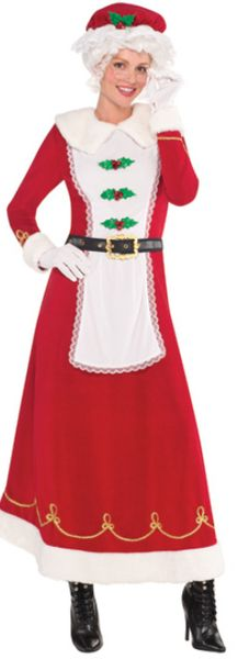 Mrs. Claus Deluxe - Standard (6-8), Plus (18-20)