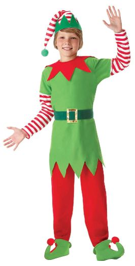 Santa's Helper - Medium (8-10), Large (12-14)