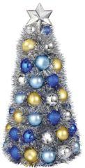 Chrismukkah Metallic Bulb Tree