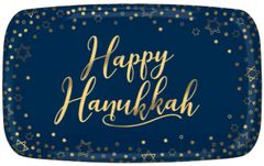 Happy Hanukkah Rectangular Platter