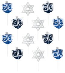 Hanukkah Party Picks, 36ct