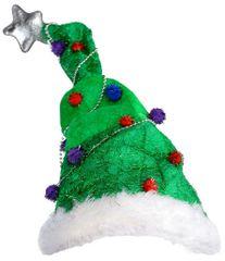 White Christmas Embellished Plush Hat